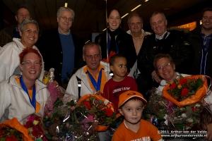 Ilse Van De Burgwal Goud (WS W3) Ilse Van De Burgwal en Inge Bakker Zilver (WD W3) Marcel Smouter Brons (MS WH3) Marcel Smouter Brons (MD W3) Ilse Van De Burgwal en Marcel Smouter Zilver (XD W3)
